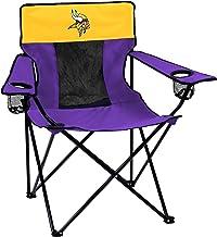 Logo Brands Officially Licensed NFL Minnesota Vikings Unisex Elite Chair, One Size, Team Color