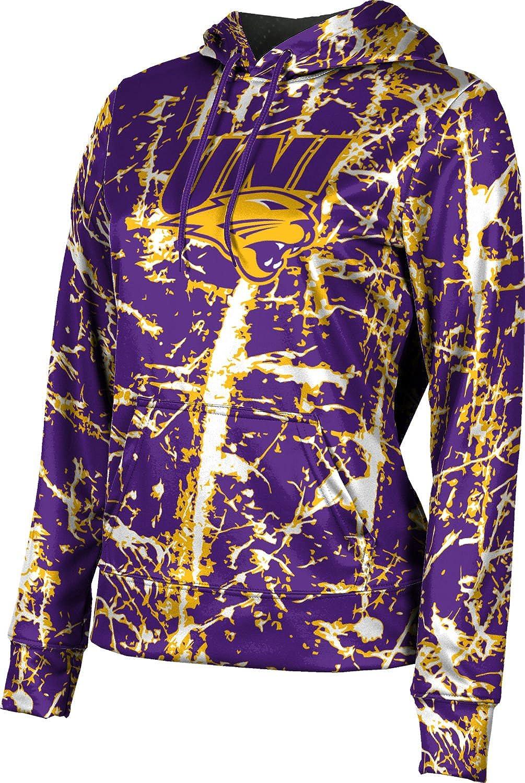 University of Northern Iowa Girls' Pullover Hoodie, School Spirit Sweatshirt (Distressed)