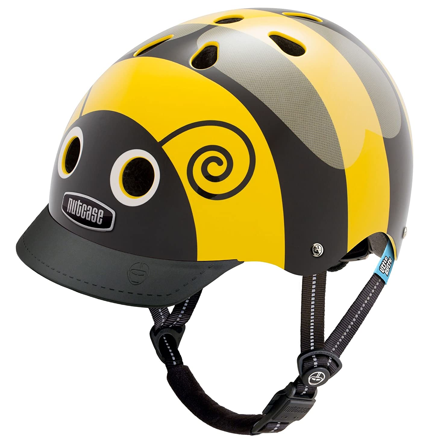 つぶすコンサルタント全員Nutcase(ナットケース) Little Nutty / Bumblebee 幼児?子供用ヘルメット / XSサイズ:48cm52cm   XSサイズ:48cm52cm