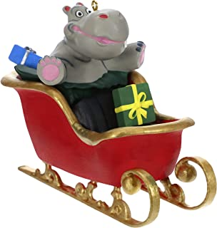 Best Hallmark Keepsake Ornament 2019 Year Dated Hippo in Sleigh Musical (Plays I Want a Hippopotamus for Christmas Song) Review