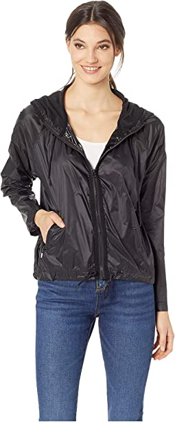 Hard Woven Gothic Juicy Packable Nylon Jacket