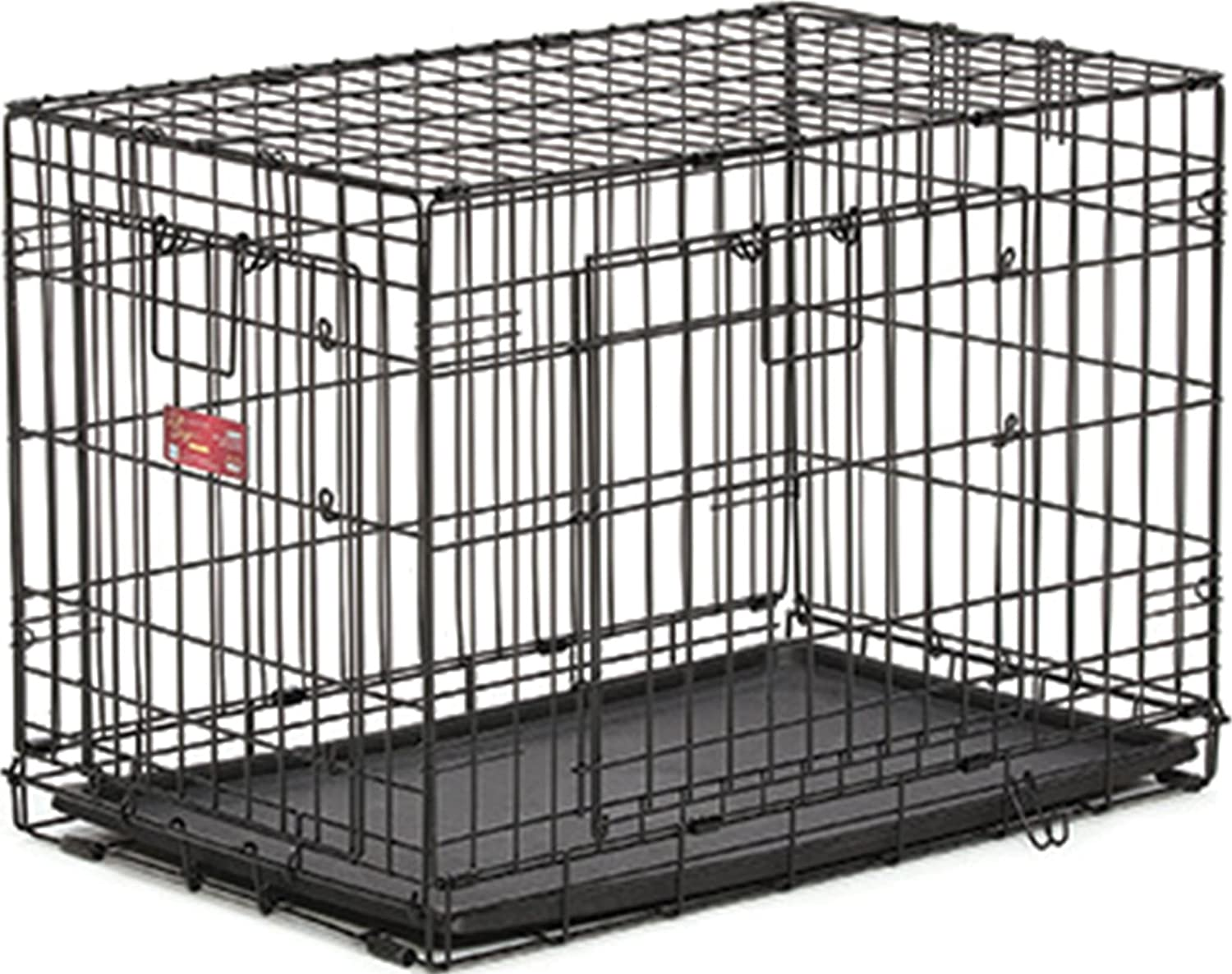 Midwest Homes for Pets Life Stages ACE Double Door Dog Crate, 22Inch