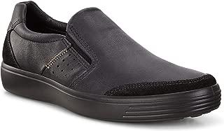 ECCO Soft 7 M Men's Casual Shoes, Titanium/Dark Shadow, 6 US