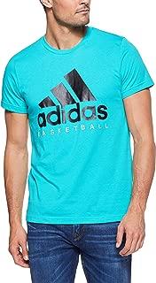 adidas Men's CW9264 Basketball Graphic Tee T-Shirt