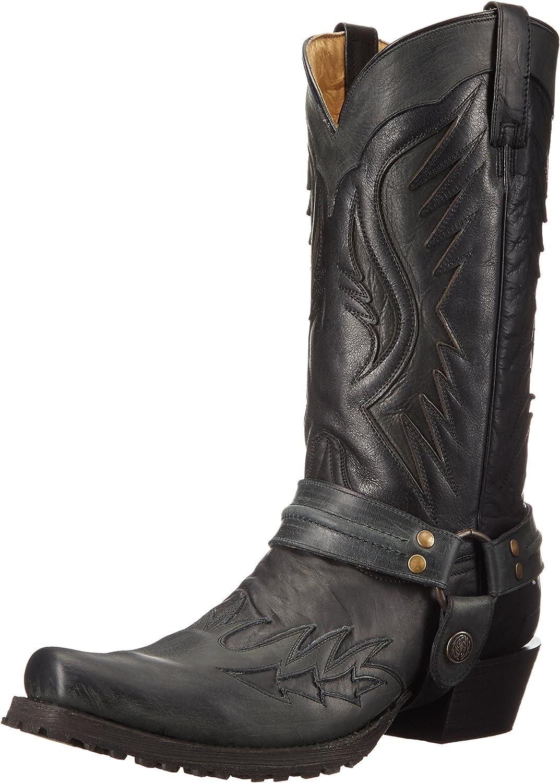 Stetson Men's Biker Outlaw Eagle Work shoes
