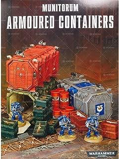 Games Workshop Warhammer 40k Munitorum Armoured Containers
