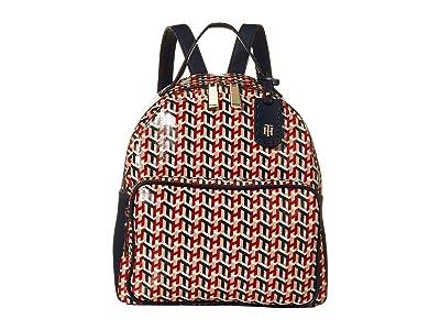 Tommy Hilfiger Julia Backpack (Navy/Multi) Backpack Bags