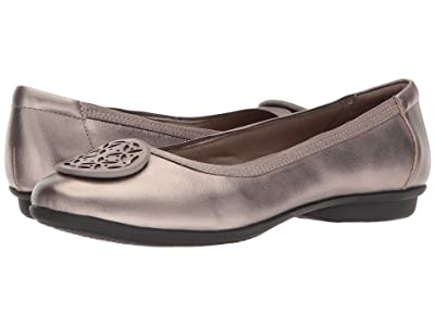 Clarks Gracelin Lola (Pewter Metallic Leather) Women