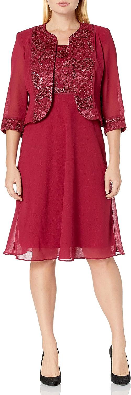 Le Bos Women's Plus Size Dusty Rose Jacket Dress