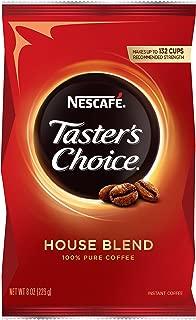 Nescafé 雀巢咖啡 速溶咖啡,研磨咖啡,轻度烘培, 试味员之选, 132杯, 8盎司(226.4克)