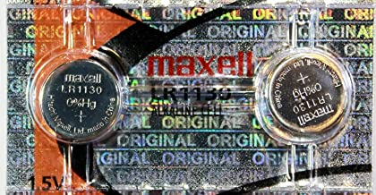Maxell LR1130 189 389 Alkaline Coin Cell Battery, 2 Pack (2 Batteries)