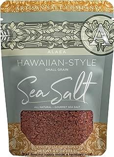 SaltWorks Sea Salt, Alaea Red Hawaiian-Style, 4 Ounce