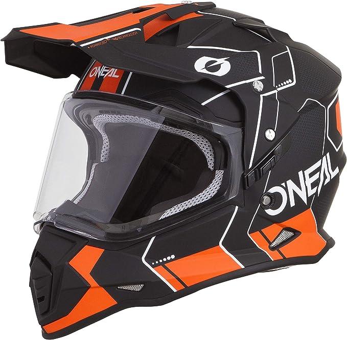 O Neal Oneal Sierra Ii Comb Motocross Enduro Helmet 2019 Black Orange Sport Freizeit