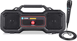 Zoook - Blue ZB-Rocker ThunderStone Portable Entertainment TWS Party Speaker 24Watts,with Big Diaphram, Loud Sound, Includ...