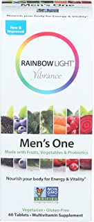 Rainbow Light, Multivitamin Mens One, 60 Count