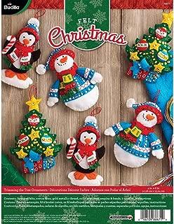 making felt ornaments