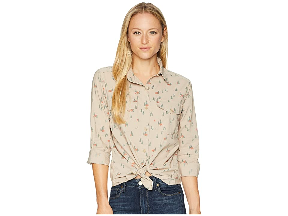 United By Blue Highland Travel Shirt (Campsite/Stone) Women