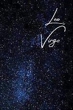 Leo/Virgo Cusp Zodiac Blank Notebook: Essays | Composition | Diary | Journal | Writing | Large Medium 6 x 9 inches