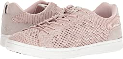 Fossil/Pink Champagne Kid Suede/Knit
