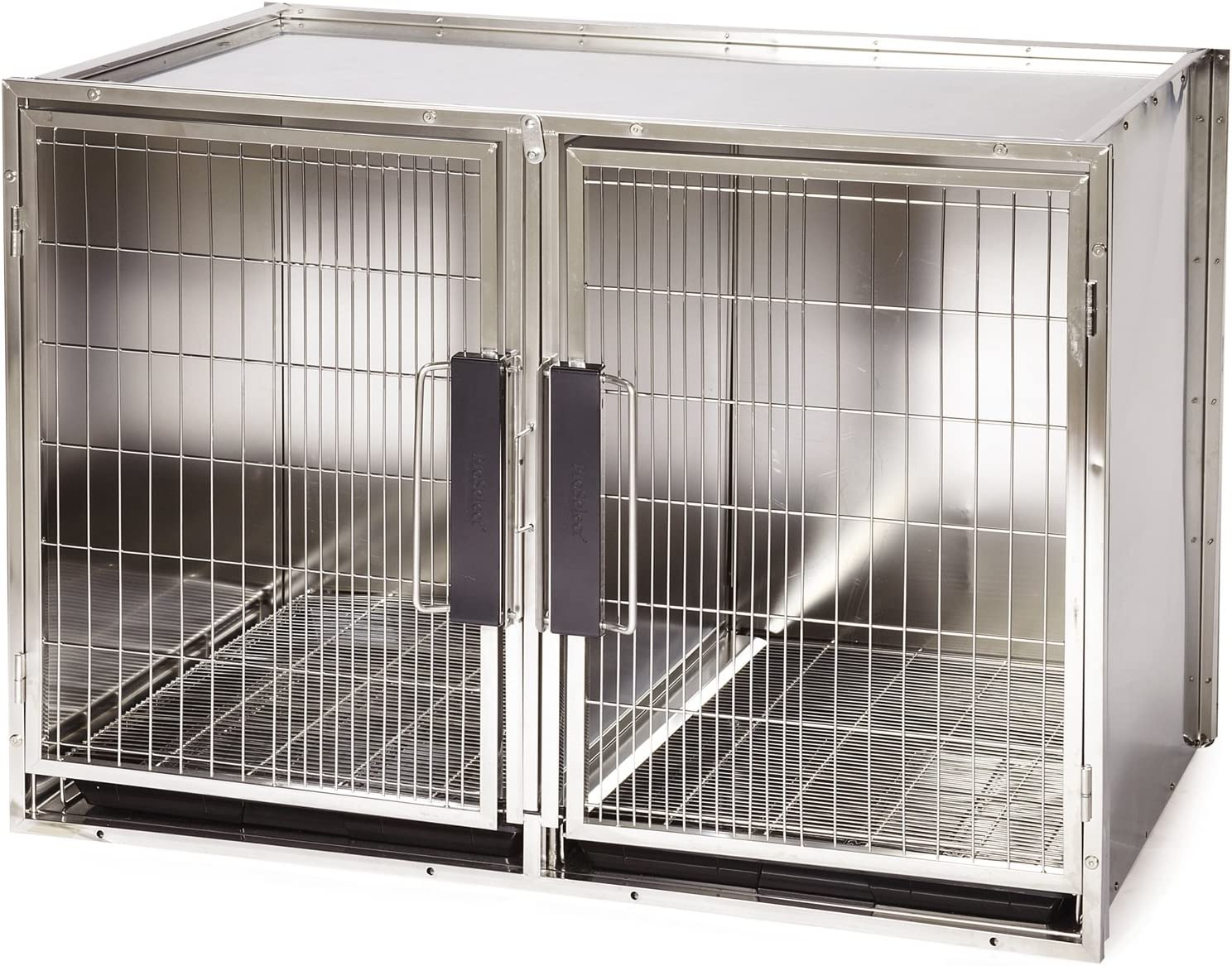 Pro Select 100% quality warranty! Stainless Steel Kennel safety Modular