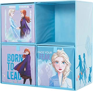 Frozen 2 Collapsible Soft Storage Cubby with 3 Collapsible Cubes
