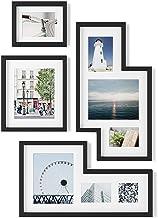 Umbra Mingle Gallery Collage Picture Frame Set, Black