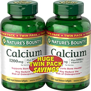 Nature's Bounty Absorbable - Calcium 1200mg Plus 1000IU Vitamin D3