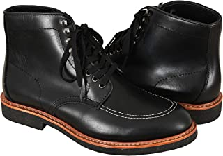 Indy Boots Indiana Jones Movie Inspired Real Leather Black High Ankle Boots Reproduction