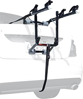 Allen Sports Deluxe 2-Bike Trunk Mount Rack, Model 102DB,Blk/ Silver