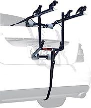 Allen Sports Deluxe 2-Bike Trunk Mount Rack, Model 102DB, Black/ Silver, 23 x 15 x 4 inches