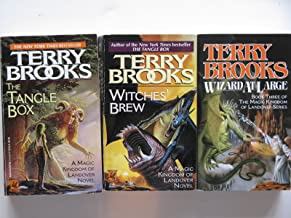 Terry Brooks 3 Book Set - Magic Kingdom of Landoverseries - Wizard At Large, Witches' Brew, The Tangle Box