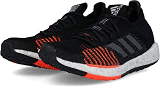 70a85b04d1fd9 adidas Pulse Boost HD M Black Grey Solar Red