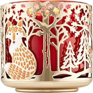 Bath and Body Works Woodland Critters 3-Wick Candle Holder
