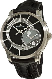 Maurice Lacroix - Reloj para Hombre PT6108-TT031391 Pontos Decentrique GMT Edición Limitada Negro con dial GMT