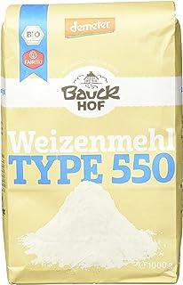 Bauckhof Weizenmehl hell T550 Demeter, 8er Pack 8 x 1 kg