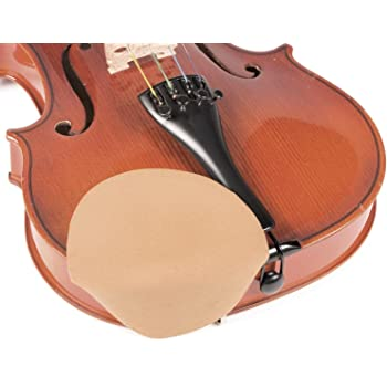 Medium for 1//2-4//4 Violin Black Chin Cozy Chinrest Cover
