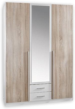 Wimex Kleiderschrank/ Drehtürenschrank Skate, 3 Türen, 2 Schubladen, 1  Spiegel, (
