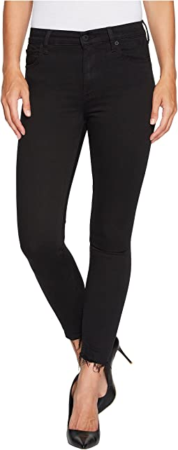 Lucky Brand - Bridgette Skinny in Black Destructed