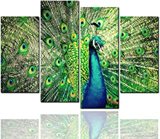 Beautiful Peacocks Wall Art Painting The Picture Print On Canvas Animal Pictures for Home Decor Decoration Gift ({Type=String, Value=12x24x2 12x32x2},{Type=String, Value=xyt5250})