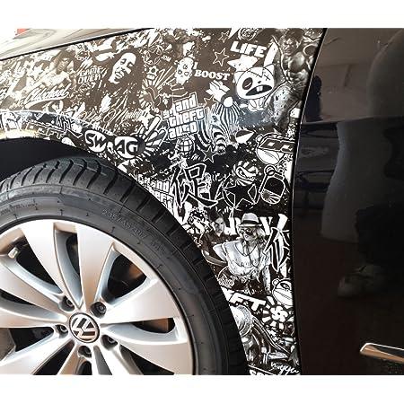 30x150cm Stickerbombfolie Stickerbomb Folie Autofolie Aufkleber Sticker Bomb Car Wrapping Auto