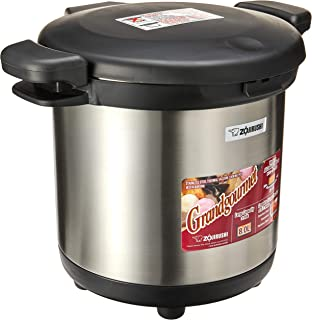 Zojirushi Stainless Steel Thermal Vacuum Cooking Pot, 8 Litre