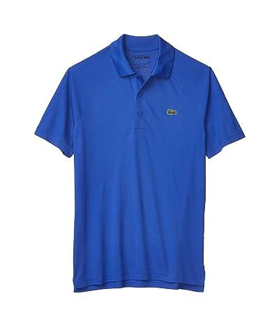 Lacoste Sport Short Sleeve Ultra Dry Raglan Sleeve Polo (Obscurity) Men