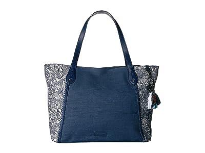 Sakroots Montero Tote (Navy Spirit Desert) Tote Handbags
