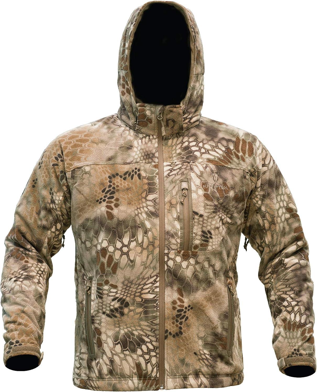 Kryptek Vellus Jacket - Men's, Medium, Highlander, 16VELJH4