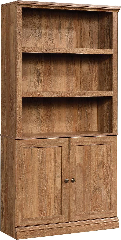 Challenge the lowest price Sauder Miscellaneous Storage Max 88% OFF 3-Shelf 2-Door L: Bookcase 35.28