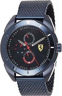 Scuderia Ferrari Mens Multi dial Quartz Watch with Stainless Steel Strap 0830638