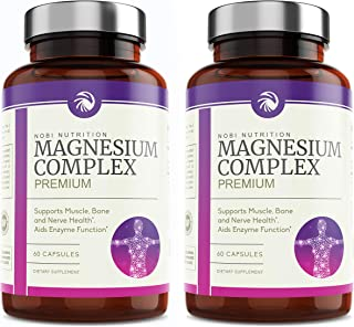 Nobi Nutrition High Absorption Magnesium Complex (2 Pack)