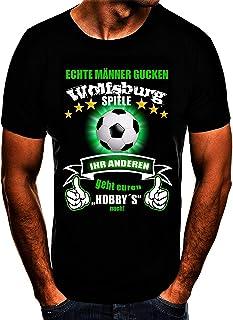 Wolfsburg Fussball Stadt T-Shirt