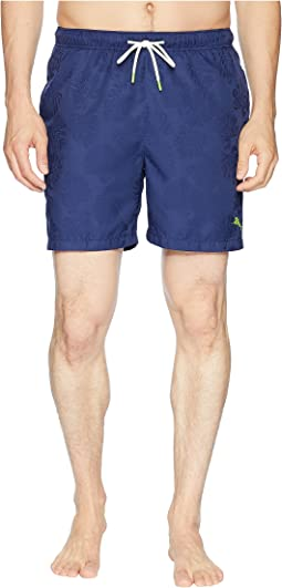 Tommy Bahama Naples Midnight Monstera Swim Trunk