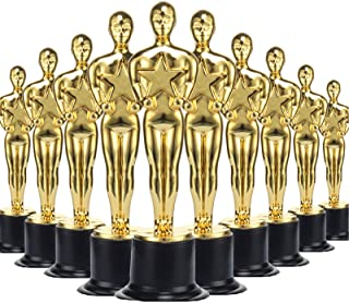 36 Pack Gold Award Trophies Party Favors,Gold Oscar Trophy for Award Ceremony,Theme Party,Birthday Party,Movie Night,Class...